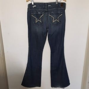 People's Liberation Blue Jeans Ladies Size 32